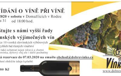 Povídání o víně